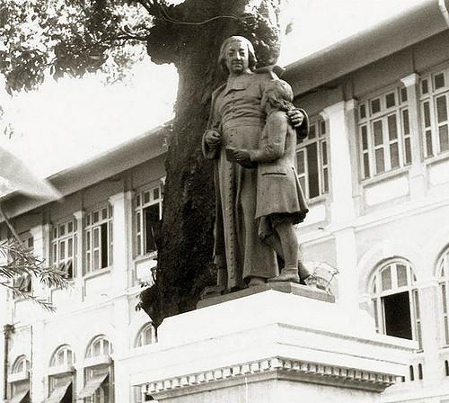 La San Taberd School in Saigon, South Vietnam